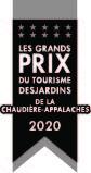 PRIX 2020 TOURISTE CHAUDIÈRE APPALACHES